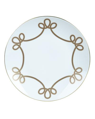 Brandenbourg Gold Bread & Butter Plate