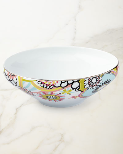 Missoni Home Margherita Salad Bowl