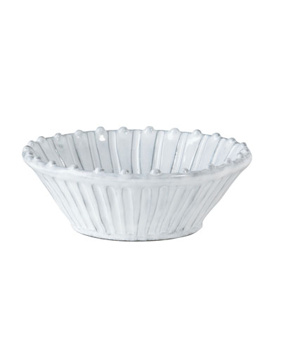 Incanto White Stripe Cereal Bowl