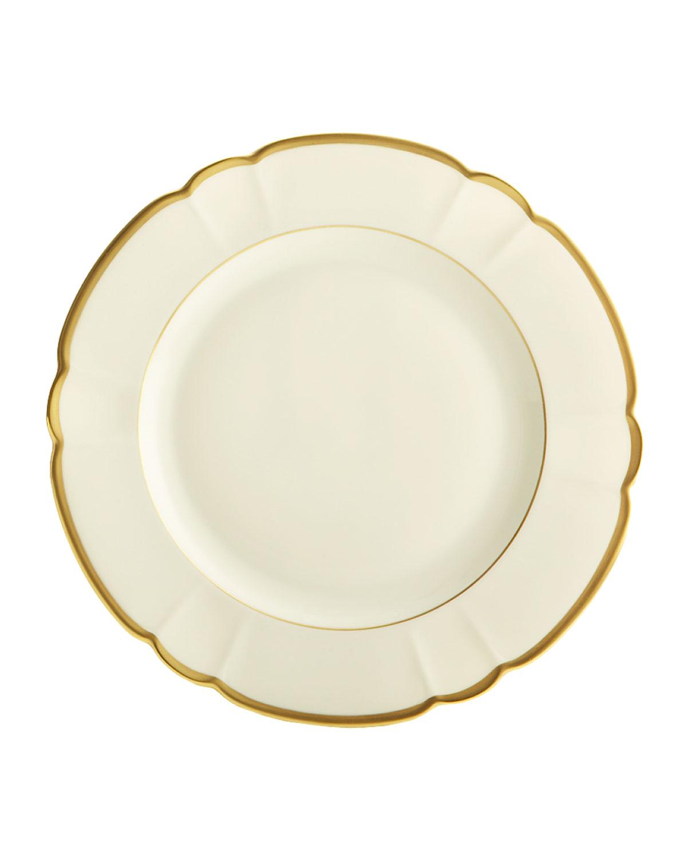 Haviland & Parlon Dinnerwares COLETTE GOLD DINNER PLATE