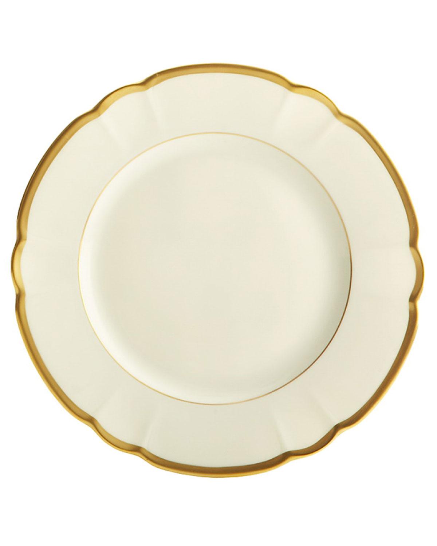 Haviland & Parlon Dinnerwares COLETTE GOLD SALAD/DESSERT PLATE