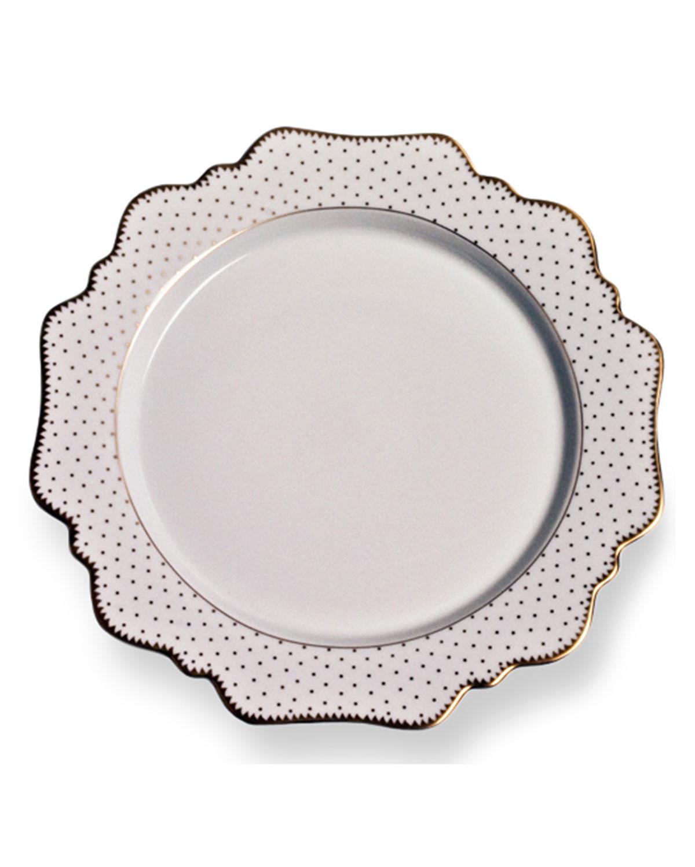 Anna Weatherley SIMPLY ANNA ANTIQUE POLKA DINNER PLATE