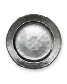 Pewter Stoneware Dinner Plate