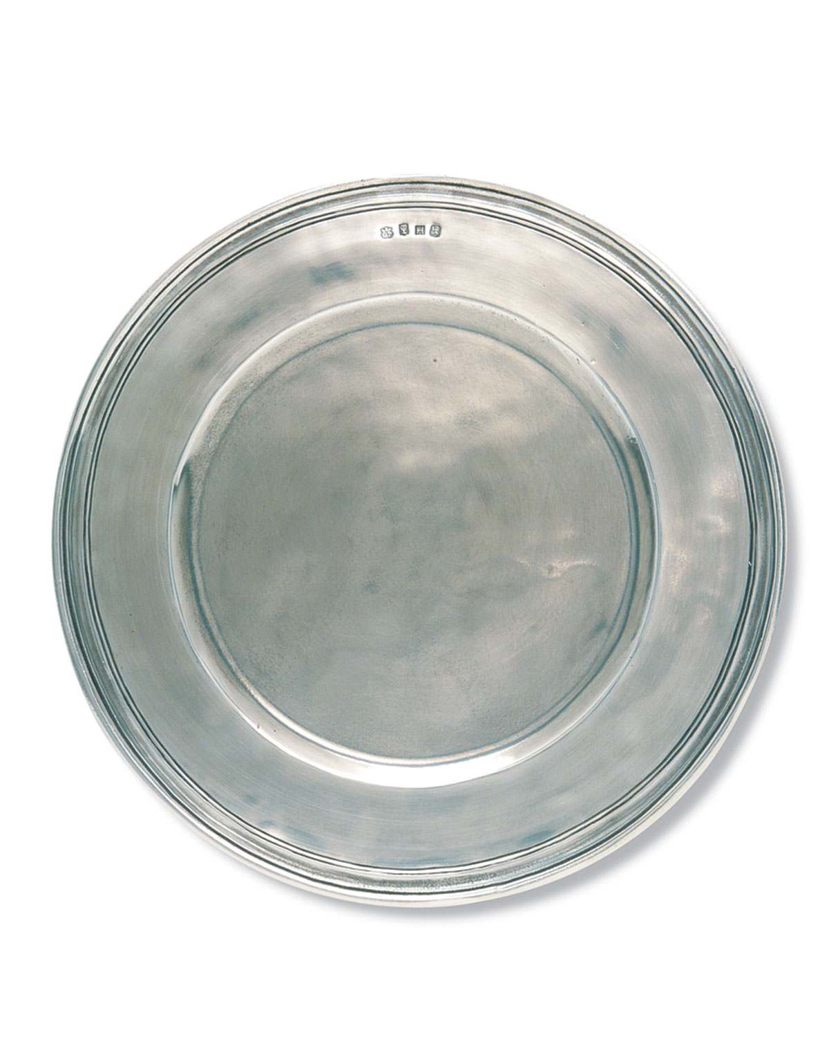 Match SCRIBED RIM LARGE CHARGER PLATE