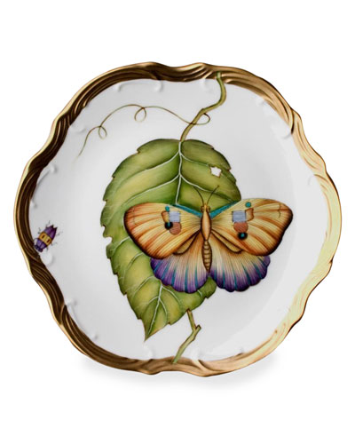 Exotic Butterflies Bread & Butter Plate