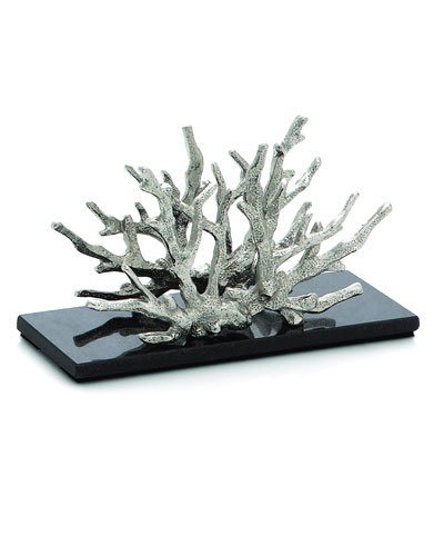 Ocean Coral Vertical Napkin Holder