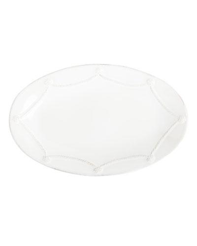 Berry & Thread Oval White Platter