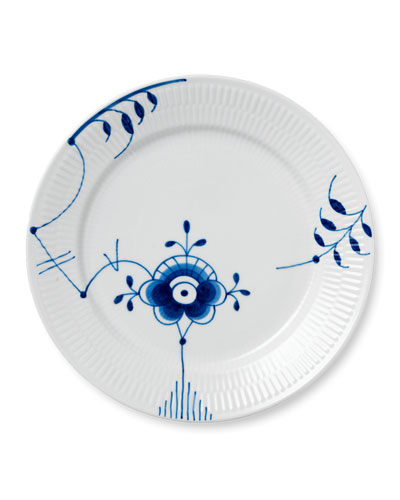 Blue Fluted Mega #6 Dinner Plate