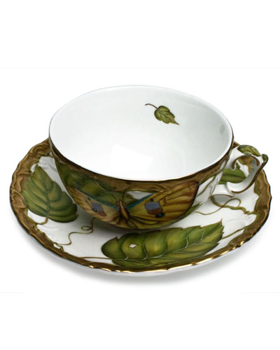 Exotic Butterflies Saucer