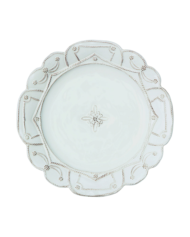 Juliska Dinnerwares JARDINS DU MONDE WHITEWASH DINNER PLATE