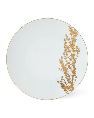Vegetal Gold Dinner Plate