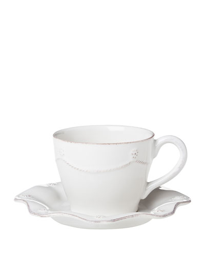 Juliska Berry & Thread White Tea / coffee Cup