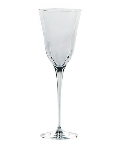 Optical Smoke Gray Wine Glass