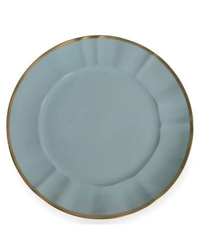 Powder Blue Charger Plate