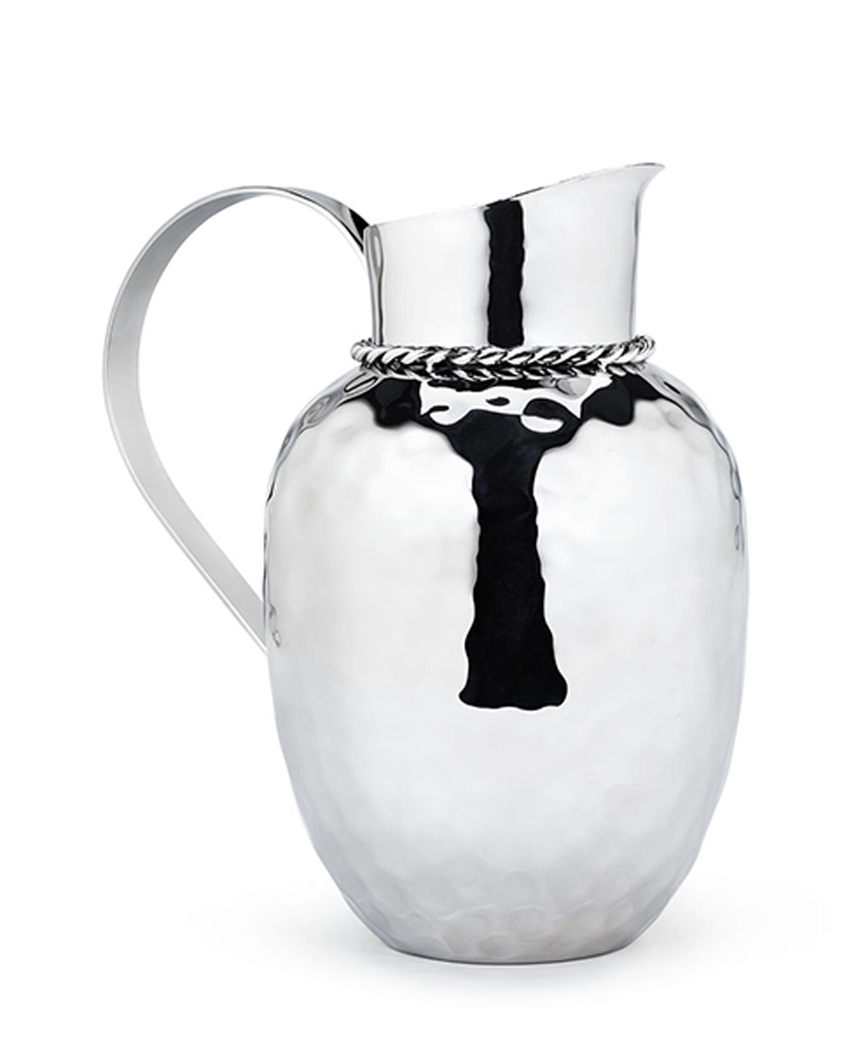 """Mary Jurek Clothing PALOMA 9.5"""" PITCHER WITH BRAIDED WIRE"""