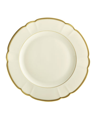 Colette Gold Charger Plate