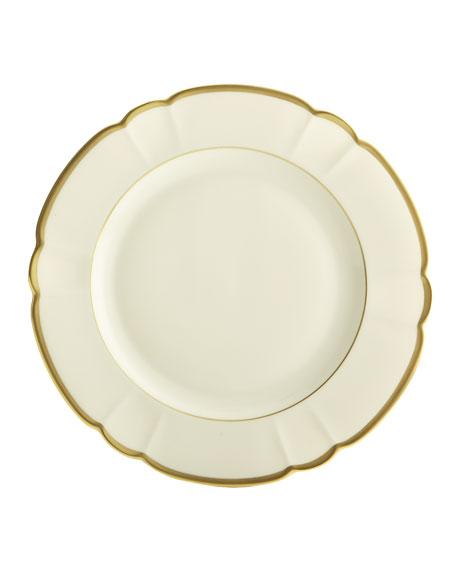 Haviland & Parlon Colette Gold Charger Plate