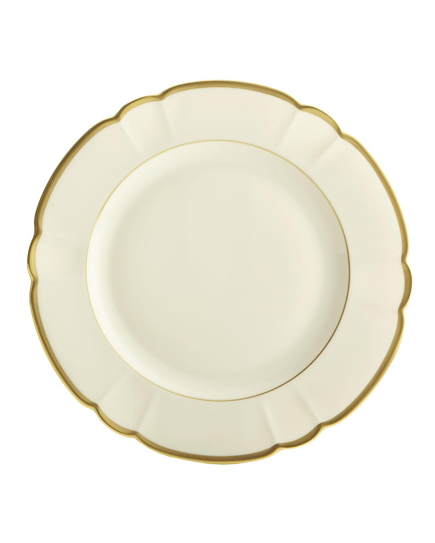 Haviland & Parlon Dinnerwares COLETTE GOLD CHARGER PLATE