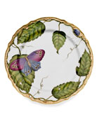 Anna Weatherly Exotic Butterflies Salad Plate