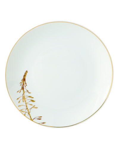 Vegetal Gold Bread & Butter Plate