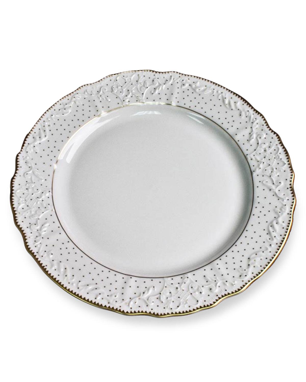 """Anna Weatherley SIMPLY ANNA POLKA"""" DINNER PLATE"""""""