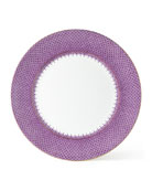 Lace Plum Charger Plate