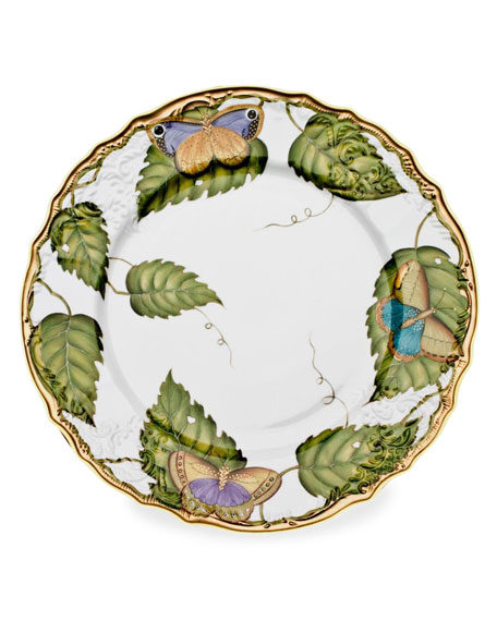 Anna Weatherly Exotic Butterflies Dinner Plate