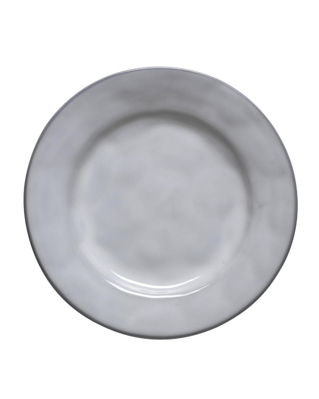 Juliska Dinnerwares QUOTIDIEN WHITE TRUFFLE SIDE/COCKTAIL PLATE