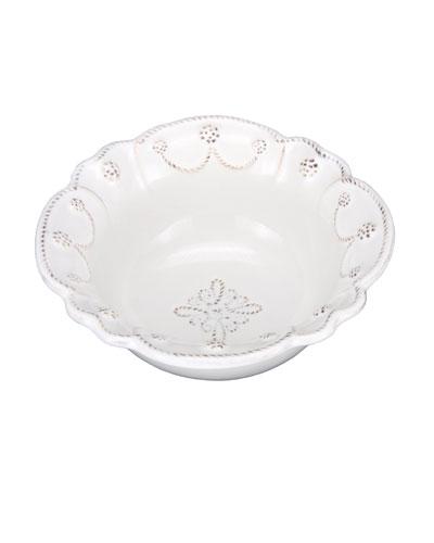 White Jardins du Monde Cereal Bowl