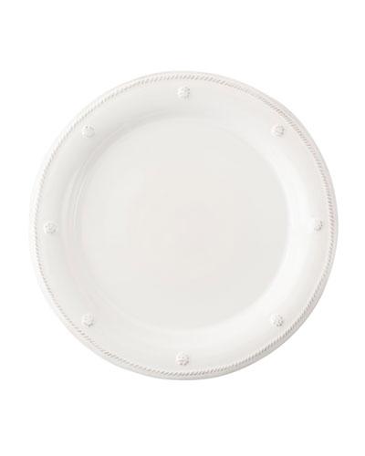 Berry & Thread Whitewash Dessert/Salad Plate