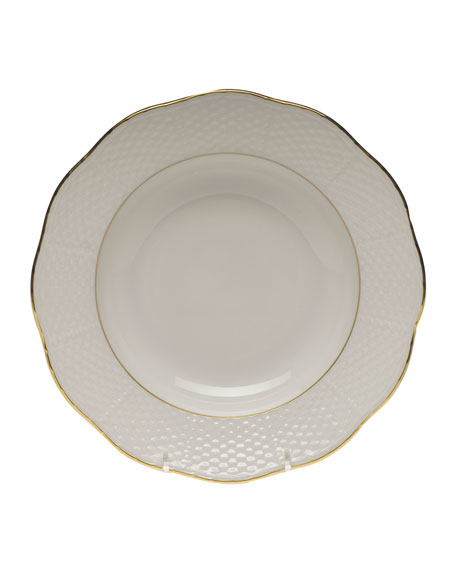 Herend Golden Edge Soup Bowl, Small