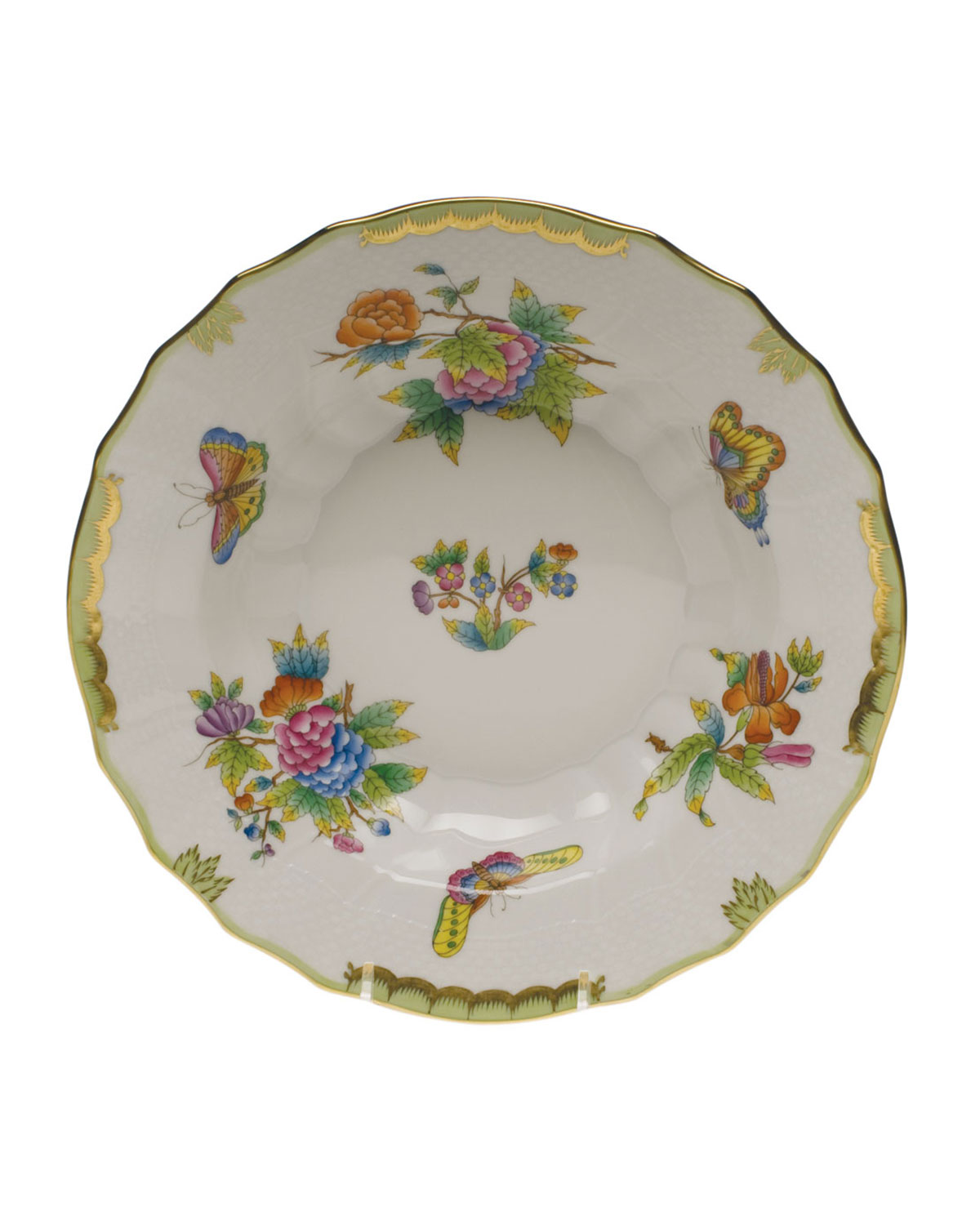 Herend QUEEN VICTORIA RIMMED SOUP BOWL