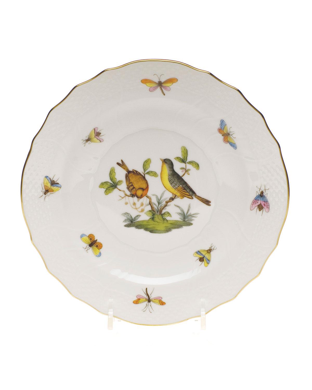 Herend ROTHSCHILD BIRD SALAD PLATE #7