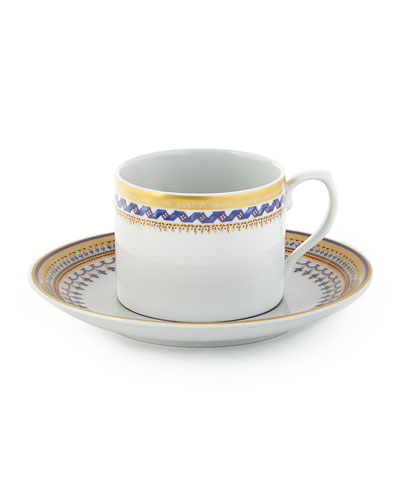 Chinoise Blue Saucer