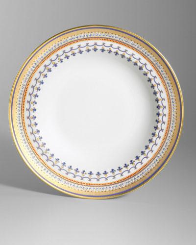 Chinoise Blue Rim Soup Bowl