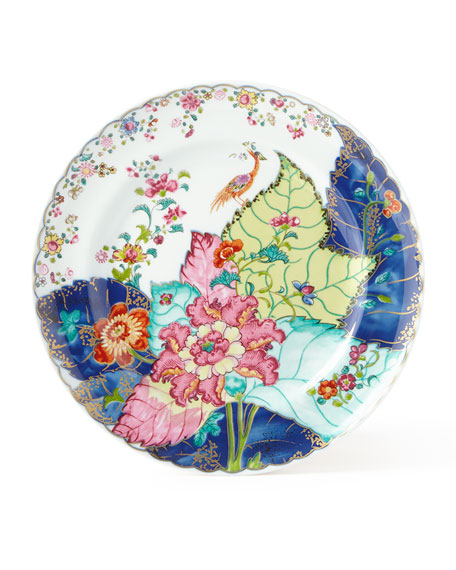 Mottahedeh Tobacco Leaf Bread & Butter Plate