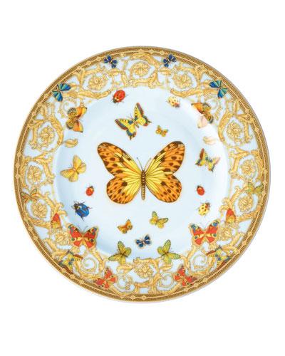 Butterfly Garden Bread & Butter Plate