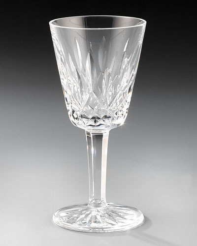 Lismore Crystal White Wine Glass