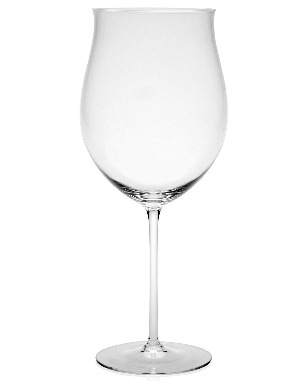 William Yeoward Clothing OLYMPIA BURGUNDY WINE GLASS