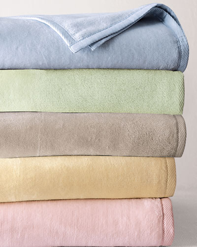 Plushed Combed Cotton Full/Queen Blanket