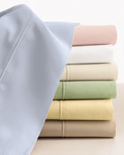 Two Standard Italian 500 Thread Count Percale Pillowcases