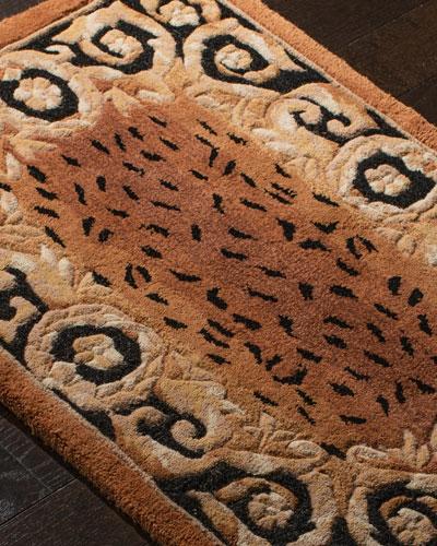 Roman Leopard Rug, 2' x 3'