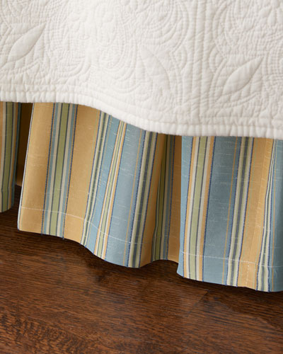 Full Lutece Cypress Striped Dust Skirt