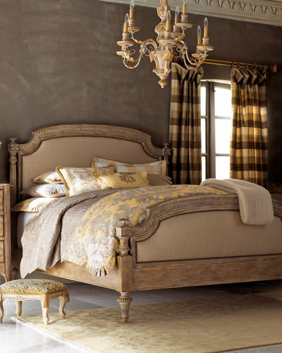 Tuscany King Panel Bed