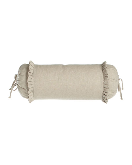 Legacy Essex Flax Neck Roll Pillow