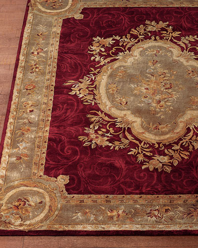 Tufted Aubusson Rug, 3'6