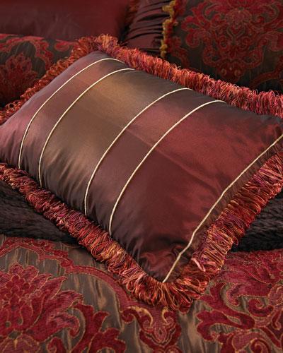 Striped Boudoir Pillow, 14