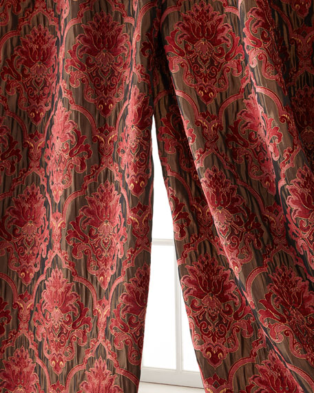 "Isabella Collection by Kathy Fielder Each Maria Christina Curtain, 96""L"