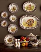 Turkey Salad Plates, Set of 4