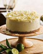 Key Lime Silk Pie